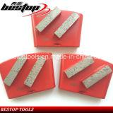 Алмазные шлифовальные конкретные пластины 2 бара HTC