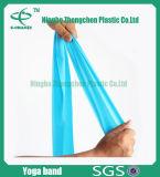 O melhor estiramento da aptidão une a faixa natural da resistência do látex com logotipo feito sob encomenda