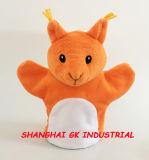 美しいオレンジ動物手パペット