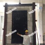 O UL certificou a porta vitrificada avaliada incêndio do metal ou a porta de incêndio de madeira contínua