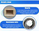 Horno de mufla de fibra de cerámica resistente a altas temperaturas