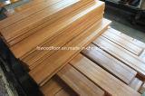 Luz amarilla Prefinished pisos de madera de teca de Brasil