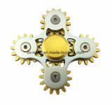 새로운 디자인 4 기어 결합 금속 손 싱숭생숭함 방적공