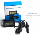 대중적인 LCD 디지털 열 습도계 온도 습도 관제사