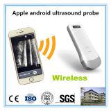 Apple Iosのアンドロイドの電話のための線形か凸の超音波のスキャンナーのプローブ