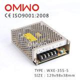 bloc d'alimentation à sortie unique Wxe-35s-5 de commutation de 35W 5V 7A DEL