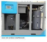 Compresseur à vis à vitesse variable 185kw / 250HP avec refroidissement à l'eau