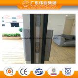 Moderne Art 135 Serien-thermischer Bruch-große Aluminiumschiebetür
