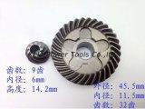 Pièces de rechange de machine-outil (jeux de vitesse pour l'usage de Bosch GWS 6-100 de rectifieuse de cornière)