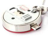 금속 전화 USB 섬광 드라이브 소형 USB 지팡이 방수 USB 기억 장치