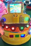Conduite de luxe de Kiddie de fibre de verre avec le jeu vidéo de l'ami