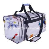 saco de Duffel do esporte da ginástica do bailado do viajante de bilhete mensal do protegido das crianças do poliéster 600d