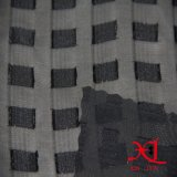 De zwarte Stof van de Manier van de Jacquard voor Kleding/Doek/Hijab