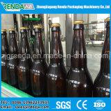 Botella de vidrio automática de lavado de limitación de empaquetadora de llenado de cerveza
