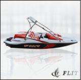 Mini piccoli gusci di alluminio poco costosi del crogiolo di vetroresina del modello di pesca del passeggero RC della Cina da vendere