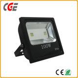 Het Slanke LEIDENE van de Prijzen van de fabriek Licht van de Vloed/Schijnwerper, de Schijnwerper van de LEIDENE Macht van de Verlichting 100W 150W IP65 Hoge