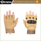 Airsoft tattico militare che cicla gli sport Fingerless che cacciano i guanti