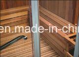 Sauna combinada a vapor do projeto do clube para multi-pessoa com personalização (AT-8652)