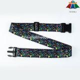"""De nylon de alta calidad 2"""" el patrón de la moda Heat-Transfer Equipaje Correa con hebilla de plástico, Hotsale producto"""