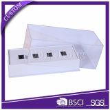 Heißes Verkaufs-Quadrat-steifer Geschenk-Kasten für das Uhr-Verpacken