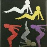 Het Vinyl van de Overdracht van de Hitte van Giltter van de strook voor Sportkleding