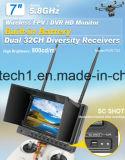 32의 채널 무선 7 인치 아기 모니터, 5.8GHz
