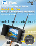 32 Kanal-Radioapparat 7 Zoll-Baby-Monitor, 5.8GHz