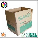 Верхнее качество гофрировало упаковывая изготовление коробки с печатью логоса
