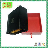 Luxury Drawer Rigid Paper Box with Foil Stamping Logo