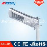 10W LED Solarstraßenlaternemit bester Qualität