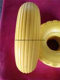 4.00-6 PU Foam Flat Free Wheel für Hand Trolley