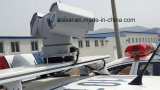 Camera van het Gezoem PTZ van het Apparaat van het Toezicht van de politie de Op een voertuig gemonteerde 4G Draadloze Video