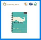 Logo or Companyの会社名プリント螺線形ノート(専門のノートの印刷の工場)