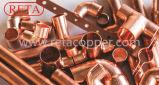 R410 um encaixe de cobre de cobre de Reta do uso