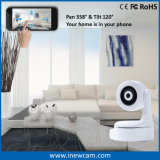 Wireless Home Security WiFi IP PTZ caméra avec suivi automatique
