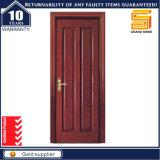 Porte en bois en bois de placage de PVC d'intérieur
