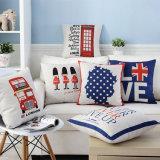 ホーム装飾の綿のリネンデジタルによって印刷される投球枕箱(35C0081)