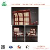Projeto de madeira que janta a cadeira de jantar luxuosa do hotel da cadeira da sala de jantar da cadeira