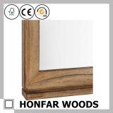 Kundenspezifische Größen-natürliches festes Holz-Spiegel-Rahmen-Formteil