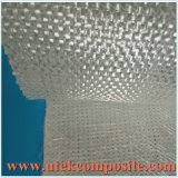 Tela Roving tejida 2000m m grande del Knit de la fibra de vidrio de la anchura con la estera