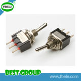 on-off sur PC Terminal 3A 125VAC Guitar Toggle Switch (FBELE)