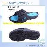 Sencillo punta abierta Hombres EVA zapatillas, zapatillas de moda Holey