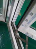 Ventana con aislamiento de cristal de ventana de PVC