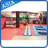 De Evenwichtsbalk van de Lucht van de gymnastiek/de Opblaasbare Stralen van de Lucht van de Gymnastiek van de Staaf van het Saldo