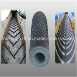Miniera, pietra, nastro trasportatore del PE del nylon del tessuto del cemento della sabbia/nastro trasportatore di gomma neri