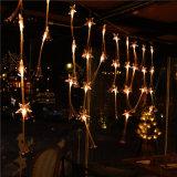 LEDのカーテンの休日またはホームまたはクリスマスの装飾のための軽い光ファイバストリングライト
