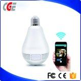 Schutz gegen Diebstahl-Qualitäts-intelligente Lampe die Kamera-Birne Telefon APP-Fernsteuerungslampen-Überwachung-Fisch-Augen CCTV-LED für Haus