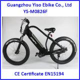 Bici eléctrica de la suciedad de la bici de 2017 grasas con 26 x 4.5