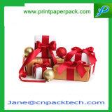Kundenspezifisches Papierpappfarbband-Verpackungs-Festival-Geschenk-verpackenkasten