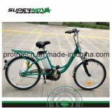 Bicicleta elétrica do motor traseiro sem escova